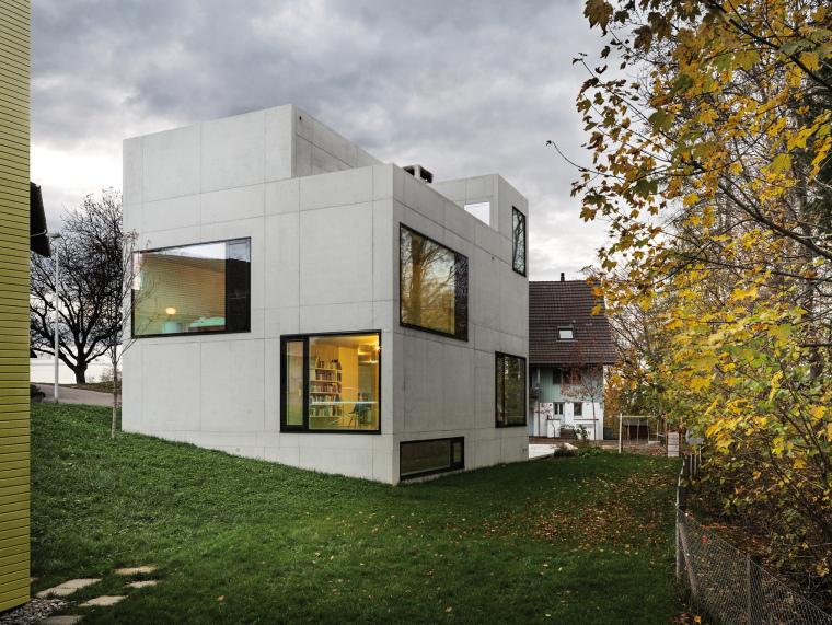 瑞士Muhlestrasse住宅和工作室