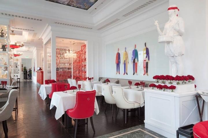 俄罗斯日瓦戈餐厅室内就餐区实景-俄罗斯日瓦戈餐厅第3张图片