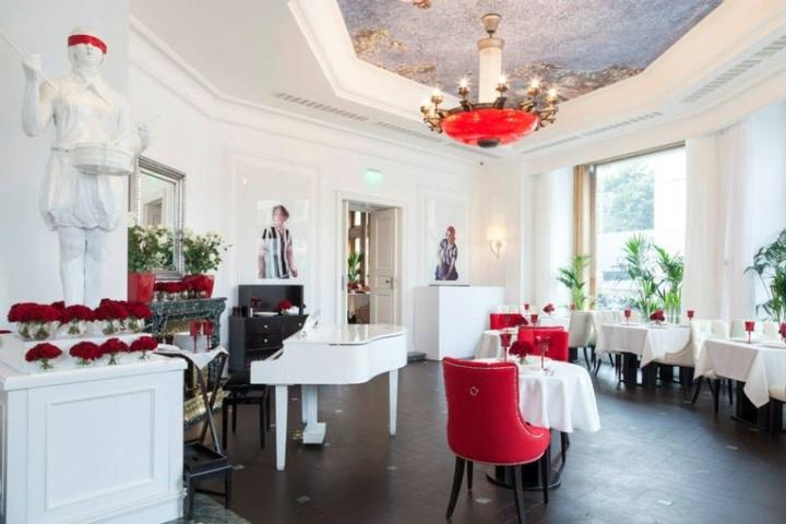 俄罗斯日瓦戈餐厅室内局部实景图-俄罗斯日瓦戈餐厅第4张图片