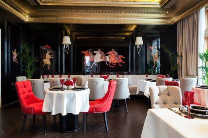 俄罗斯日瓦戈餐厅室内局部实景图-俄罗斯日瓦戈餐厅第5张图片