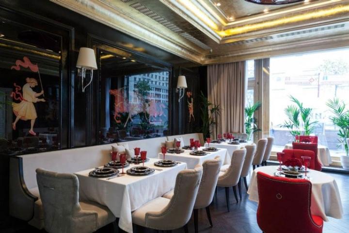 俄罗斯日瓦戈餐厅室内就餐区实景-俄罗斯日瓦戈餐厅第2张图片