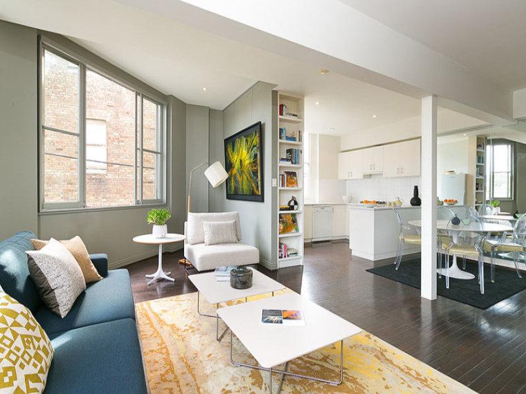 公寓鉴赏室内客厅实景图-公寓鉴赏第2张图片
