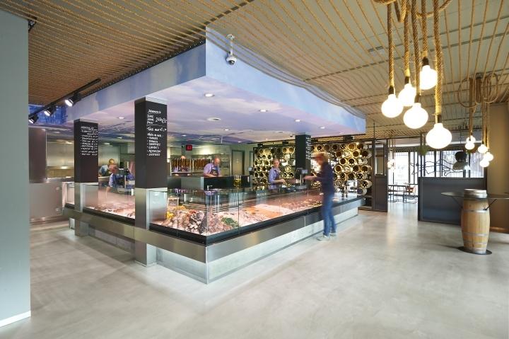 荷兰Schuitemaker鱼店餐厅室内局-荷兰Schuitemaker鱼店餐厅第4张图片