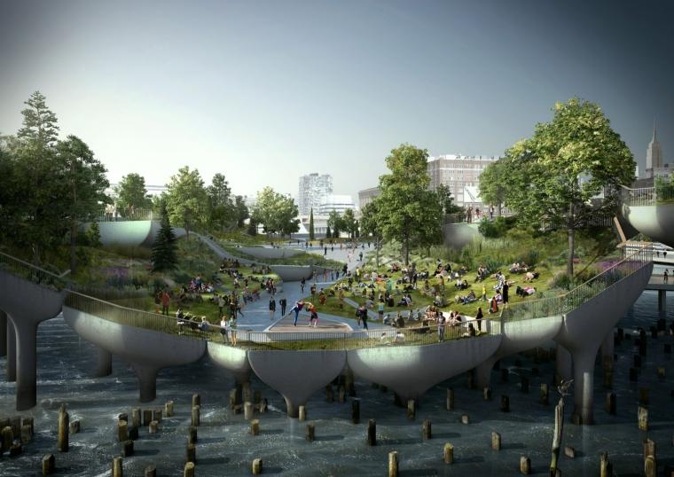 美国未来公园外部局部效果图-美国未来公园第6张图片
