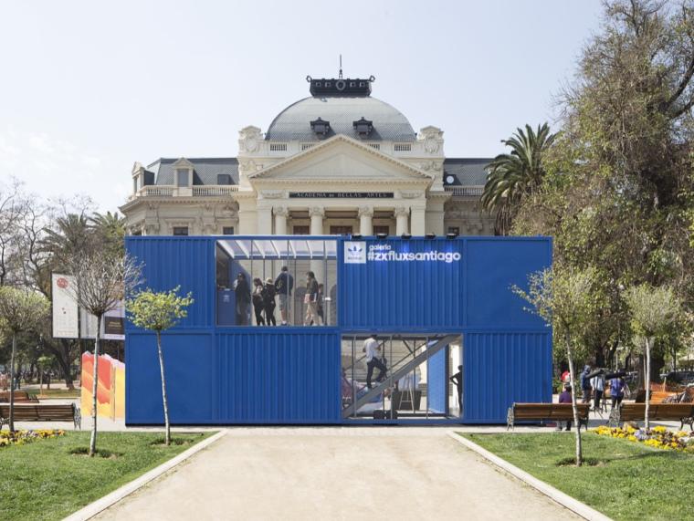 智利ZX FLUX阿迪达斯展览馆