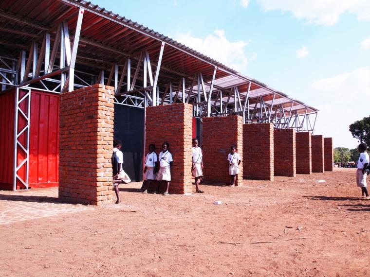 马拉维社区中心及小学外部局部实-马拉维社区中心及小学第5张图片