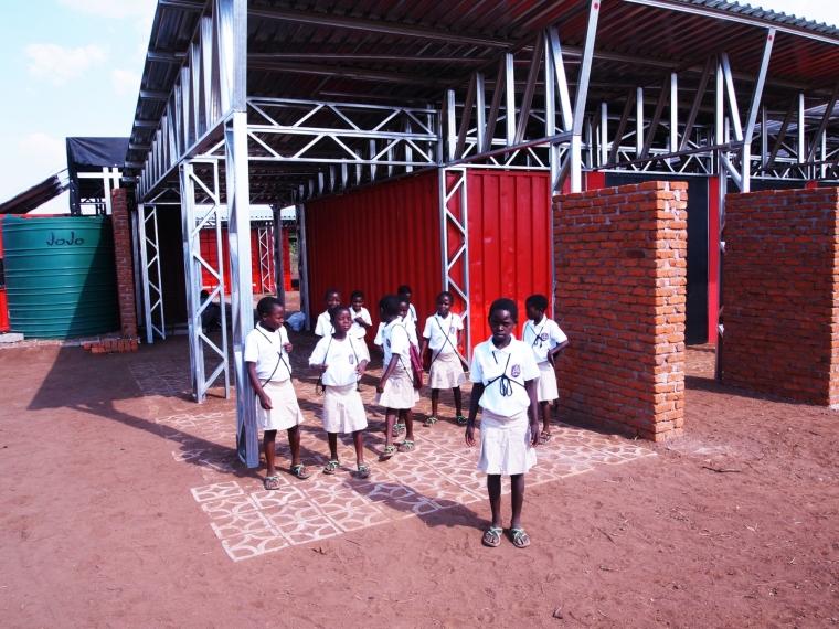 马拉维社区中心及小学外部局部实-马拉维社区中心及小学第7张图片
