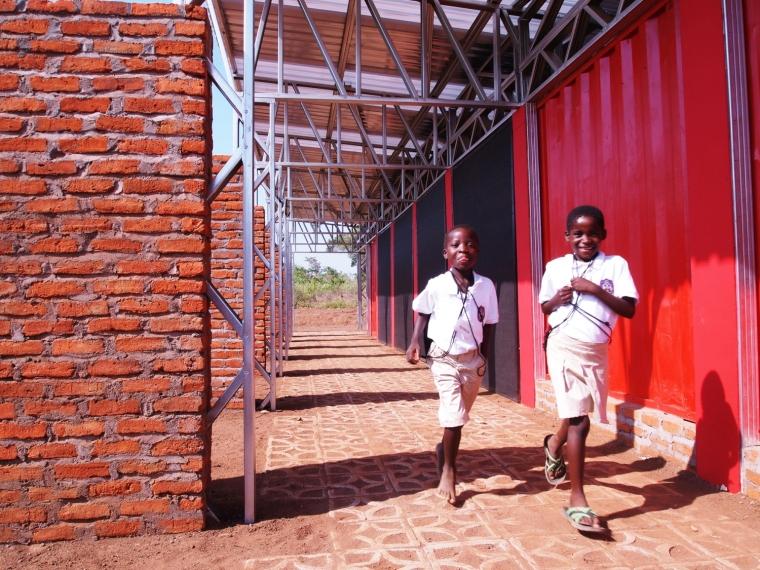 马拉维社区中心及小学外部过道实-马拉维社区中心及小学第11张图片