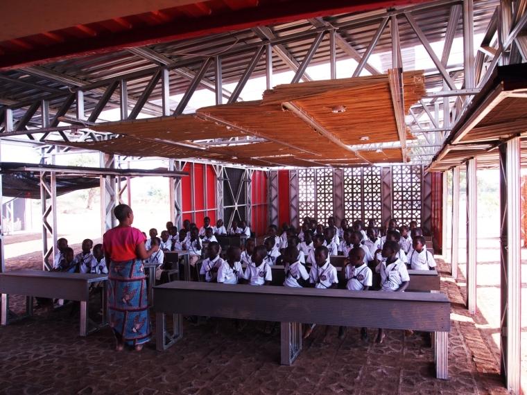 马拉维社区中心及小学之教室实景-马拉维社区中心及小学第14张图片
