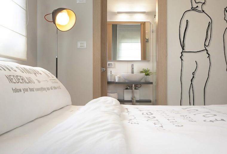以色列一间极简的公寓室内卧室实-以色列一间极简的公寓第10张图片