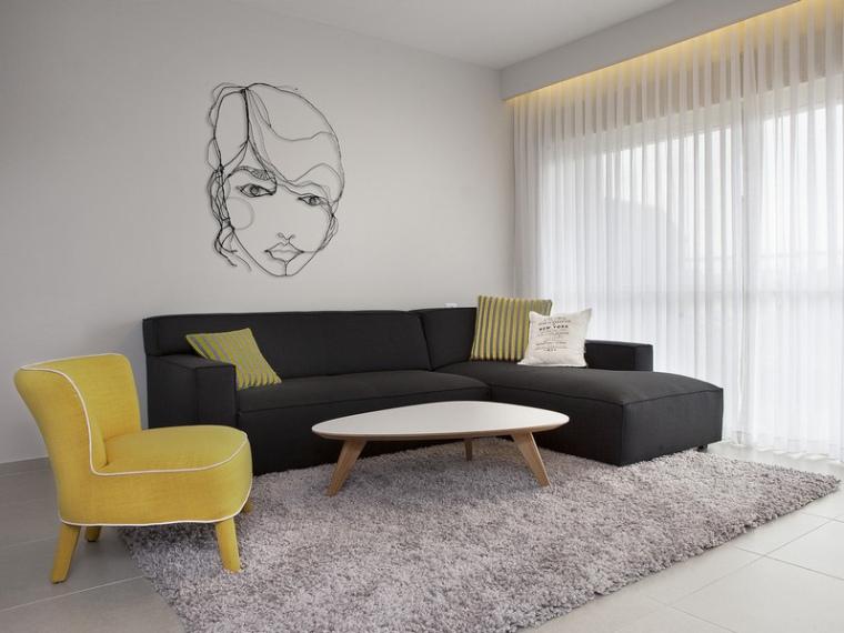 以色列一间极简的公寓第1张图片