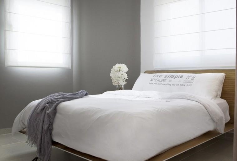 以色列一间极简的公寓室内卧室实-以色列一间极简的公寓第8张图片