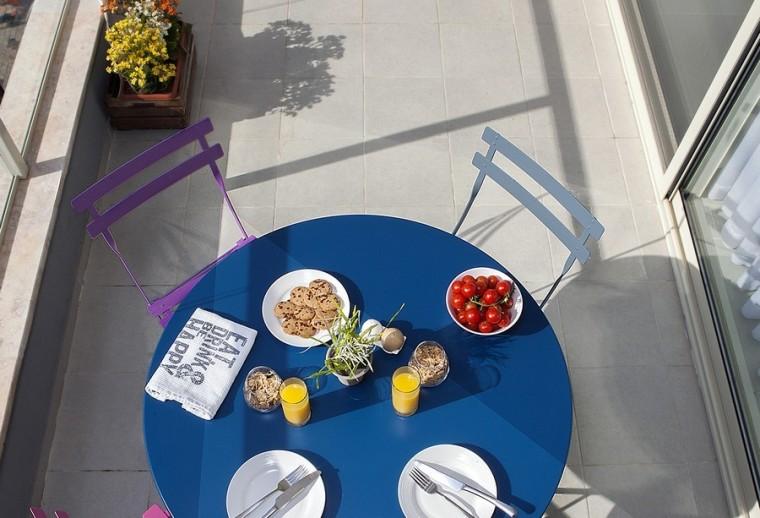 以色列一间极简的公寓之阳台实景-以色列一间极简的公寓第6张图片
