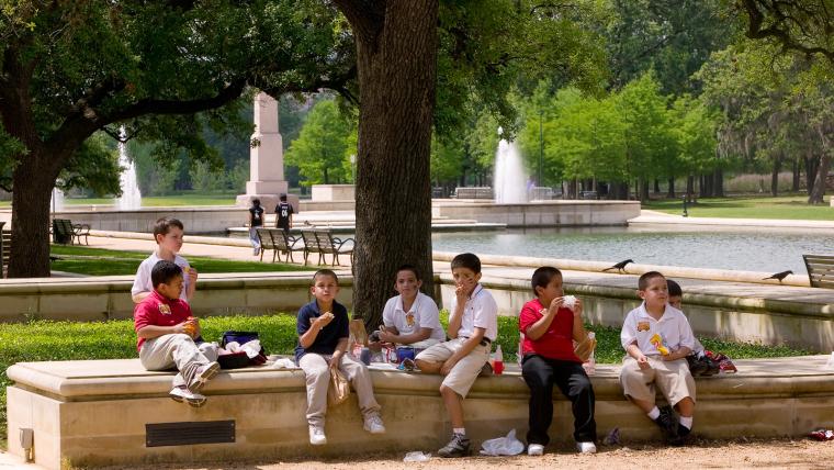 美国赫尔曼公园外部局部实景图-美国赫尔曼公园第5张图片