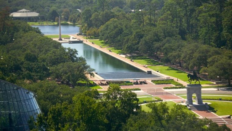 美国赫尔曼公园外部局部实景图-美国赫尔曼公园第4张图片