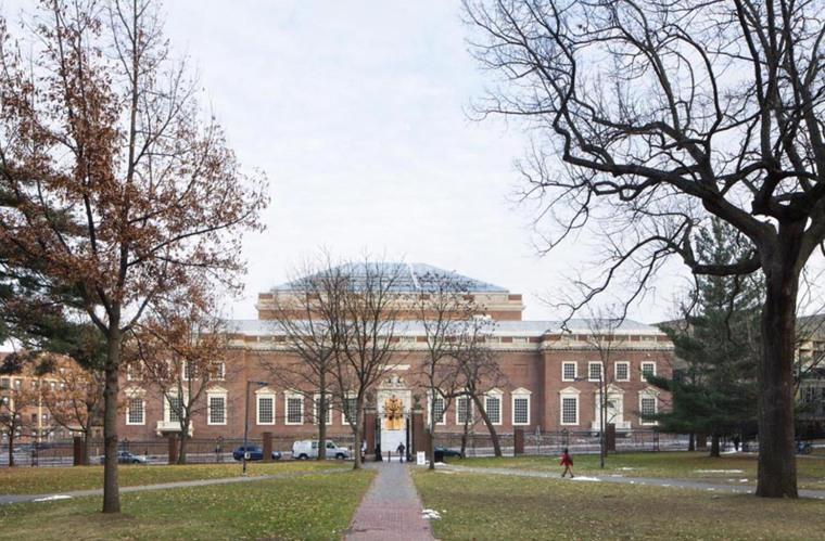 美国哈佛艺术博物馆外部实景图-美国哈佛艺术博物馆第2张图片