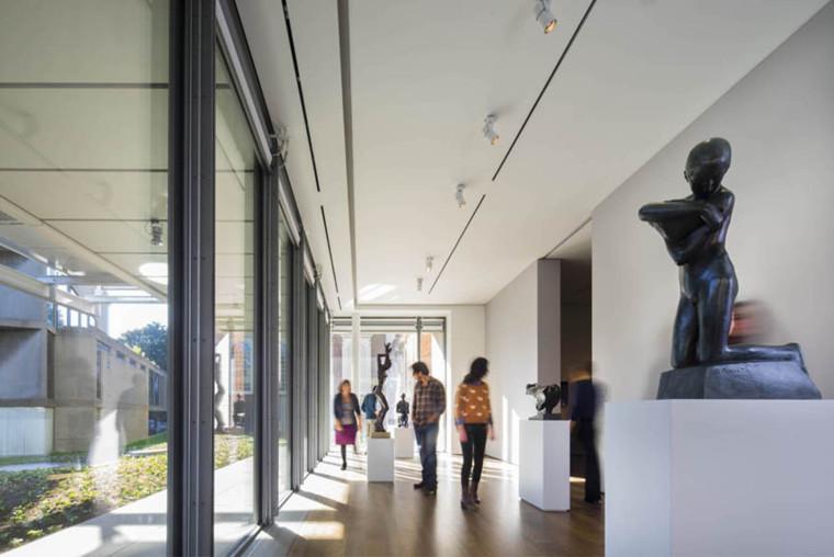 美国哈佛艺术博物馆内部展厅实景-美国哈佛艺术博物馆第10张图片