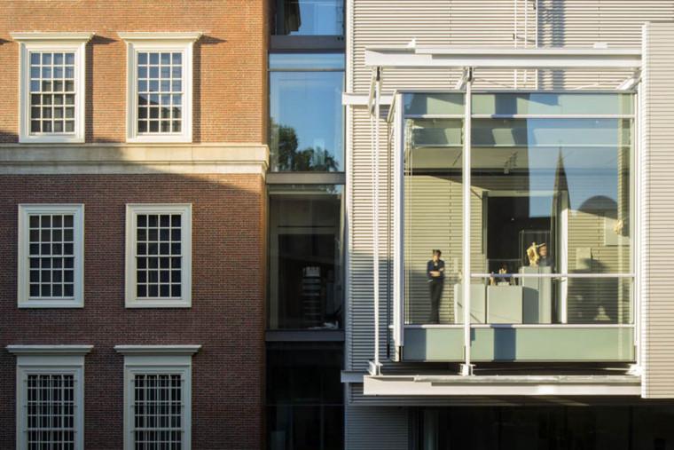美国哈佛艺术博物馆外部局部实景-美国哈佛艺术博物馆第6张图片