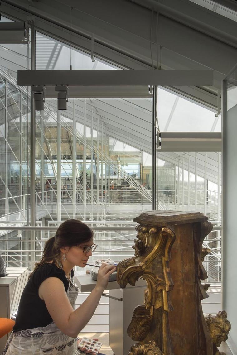 美国哈佛艺术博物馆内部工作间实-美国哈佛艺术博物馆第18张图片