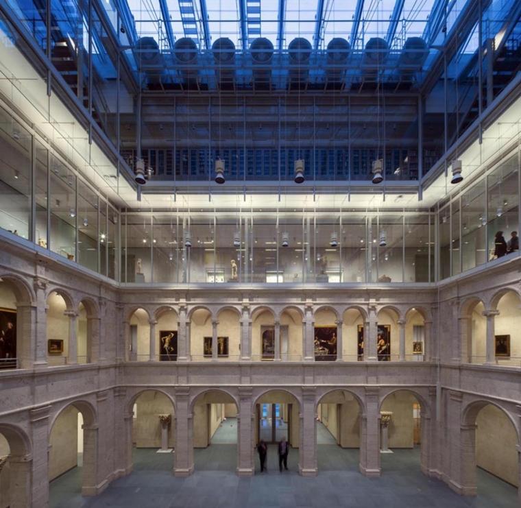 美国哈佛艺术博物馆内部实景图-美国哈佛艺术博物馆第19张图片