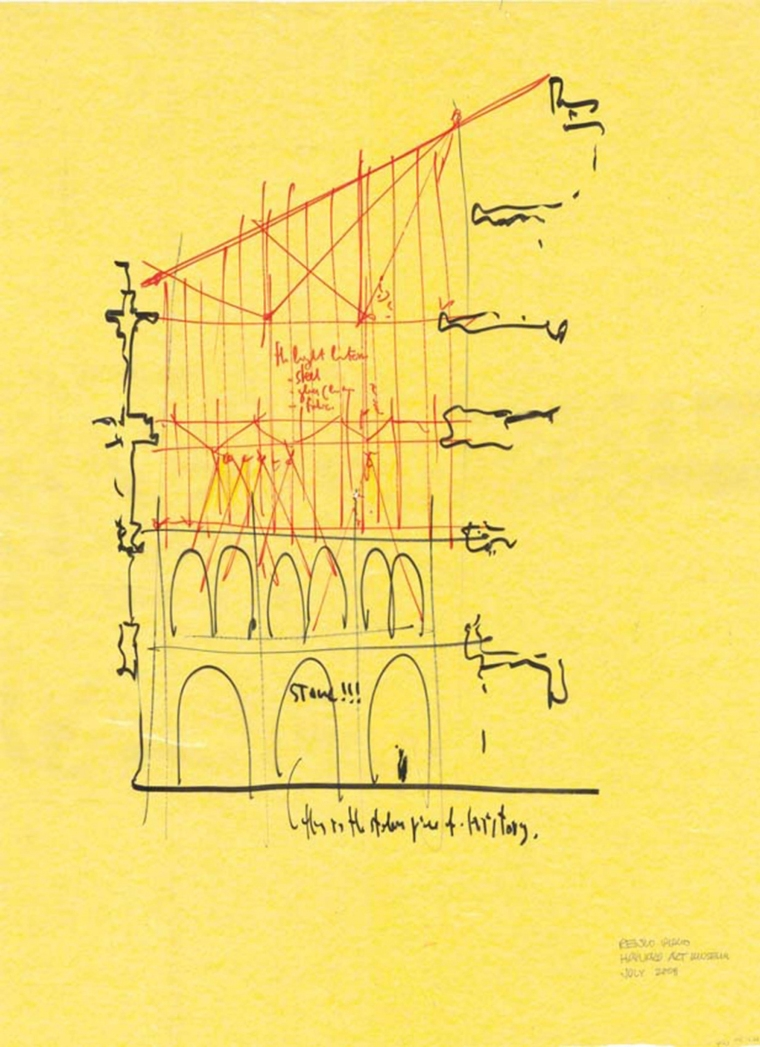 美国哈佛艺术博物馆草图-美国哈佛艺术博物馆第22张图片