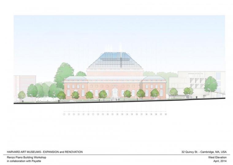 美国哈佛艺术博物馆剖面图-美国哈佛艺术博物馆第30张图片