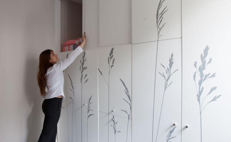 法国极限利用空间的公寓室内细节-法国极限利用空间的公寓第12张图片
