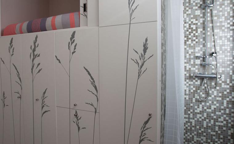 法国极限利用空间的公寓室内细节-法国极限利用空间的公寓第10张图片