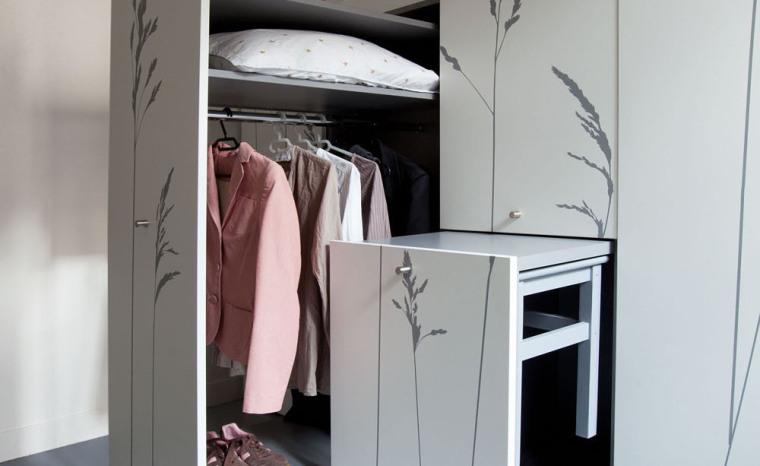 法国极限利用空间的公寓室内实景-法国极限利用空间的公寓第14张图片