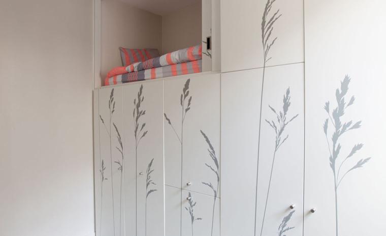 法国极限利用空间的公寓室内实景-法国极限利用空间的公寓第4张图片