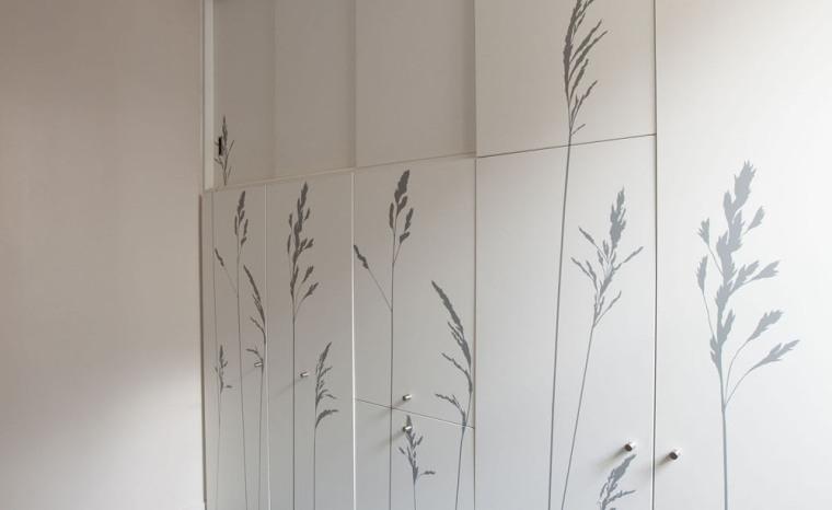 法国极限利用空间的公寓室内局部-法国极限利用空间的公寓第5张图片