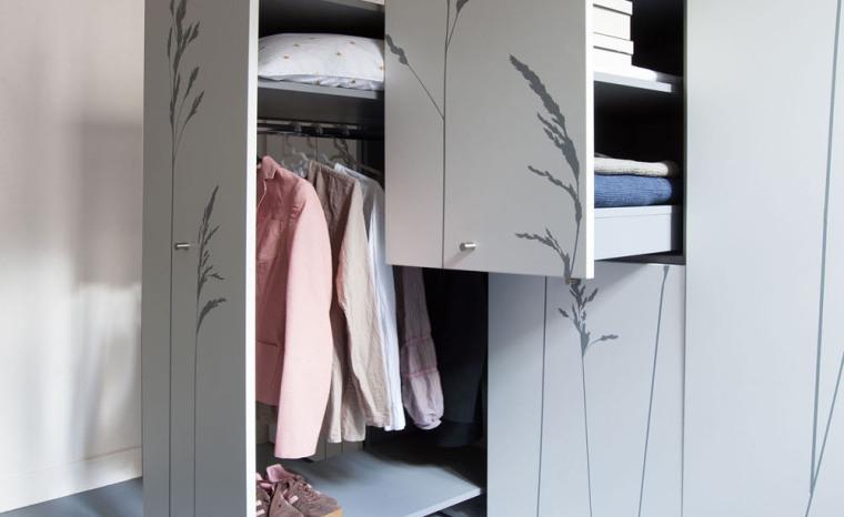 法国极限利用空间的公寓室内局部-法国极限利用空间的公寓第6张图片