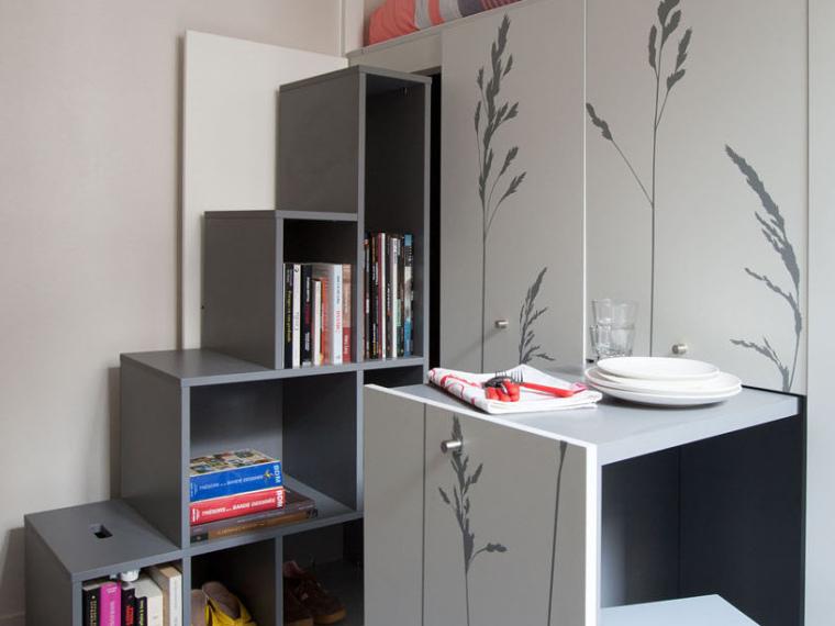 法国极限利用空间的公寓第1张图片