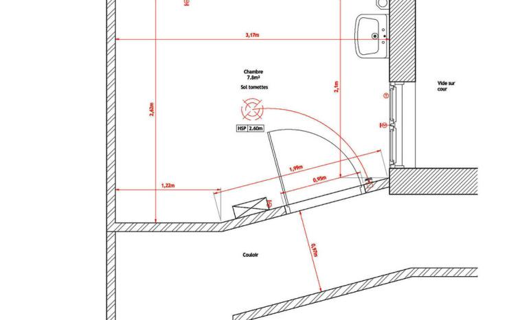 法国极限利用空间的公寓平面图-法国极限利用空间的公寓第23张图片