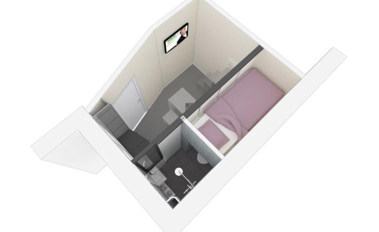 法国极限利用空间的公寓模型图-法国极限利用空间的公寓第19张图片