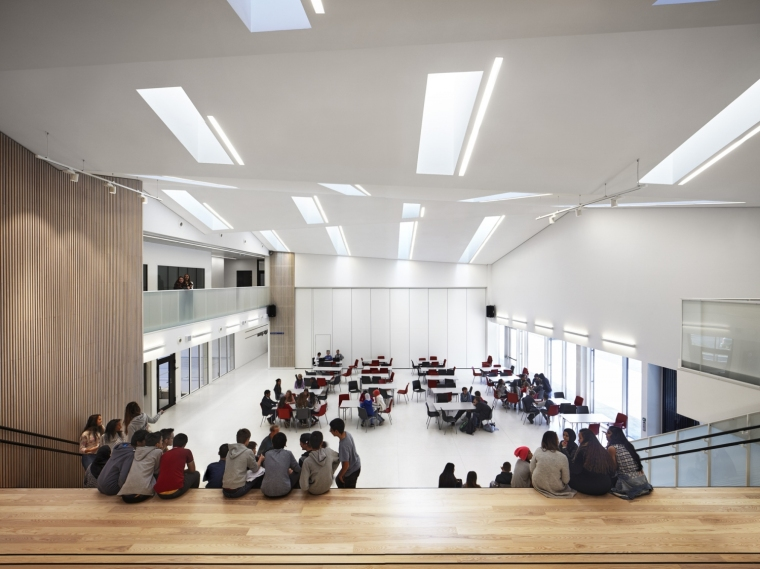 挪威Bratejordet中学内部实景图-挪威Bratejordet中学第6张图片