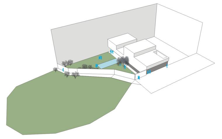 西班牙单亲家庭花园住宅模型图-西班牙单亲家庭花园住宅第13张图片