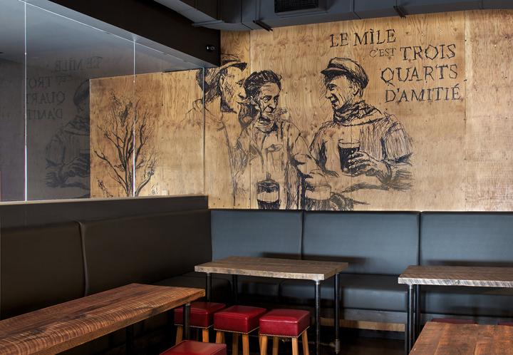 加拿大Míle酒吧餐厅室内就餐区实-加拿大Míle酒吧餐厅第4张图片