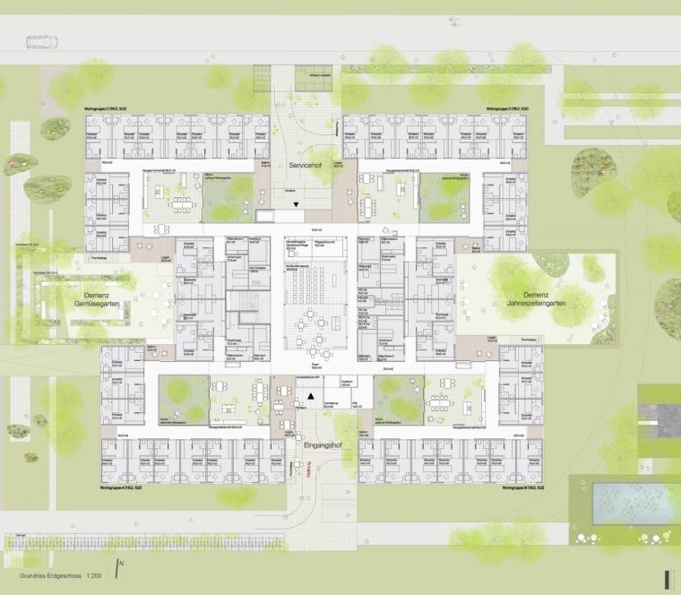 奥地利彼得罗塞格尔疗养院平面图-奥地利彼得罗塞格尔疗养院第22张图片