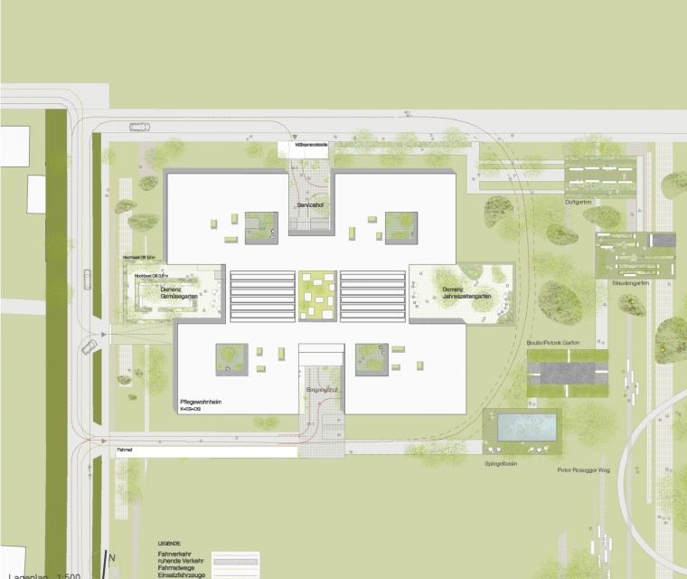 奥地利彼得罗塞格尔疗养院平面图-奥地利彼得罗塞格尔疗养院第23张图片