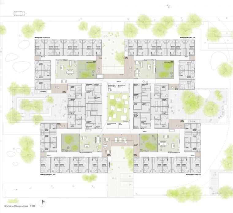 奥地利彼得罗塞格尔疗养院平面图-奥地利彼得罗塞格尔疗养院第24张图片