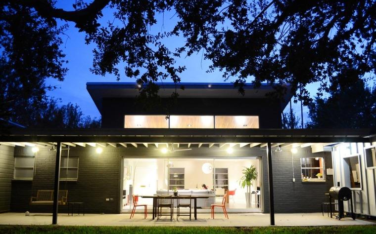 美国韦斯特韦别墅外部夜景实景图-美国韦斯特韦别墅第11张图片