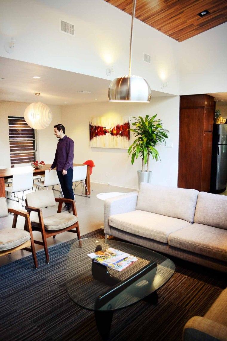 美国韦斯特韦别墅内部客厅实景图-美国韦斯特韦别墅第22张图片