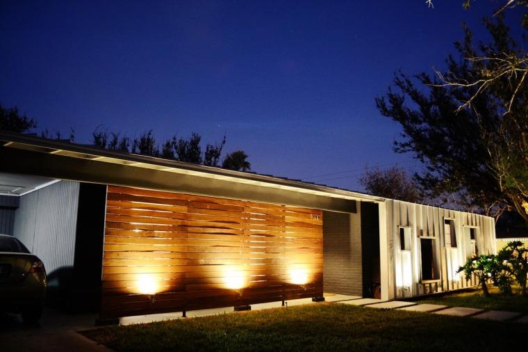美国韦斯特韦别墅外部夜景实景图-美国韦斯特韦别墅第15张图片