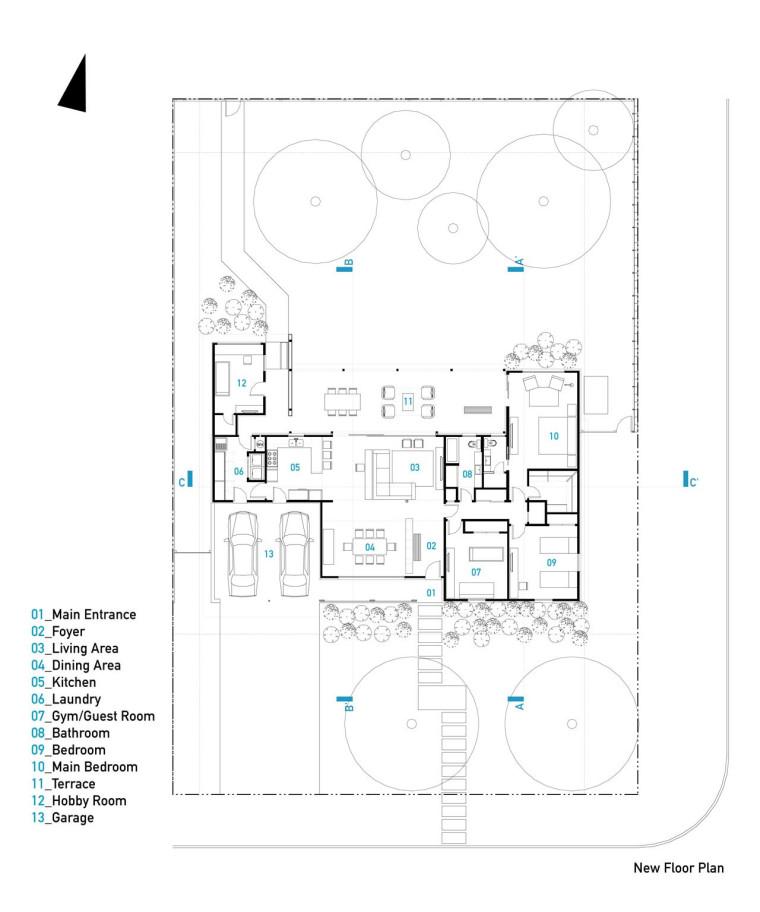 美国韦斯特韦别墅平面图-美国韦斯特韦别墅第31张图片