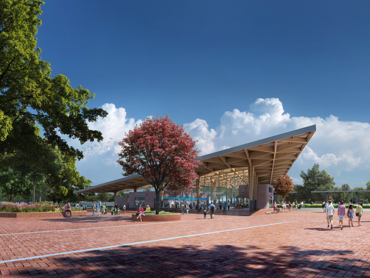 荷兰阿森火车站改建第1张图片