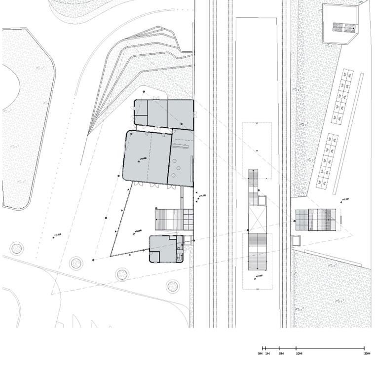 荷兰阿森火车站改建平面图-荷兰阿森火车站改建第11张图片
