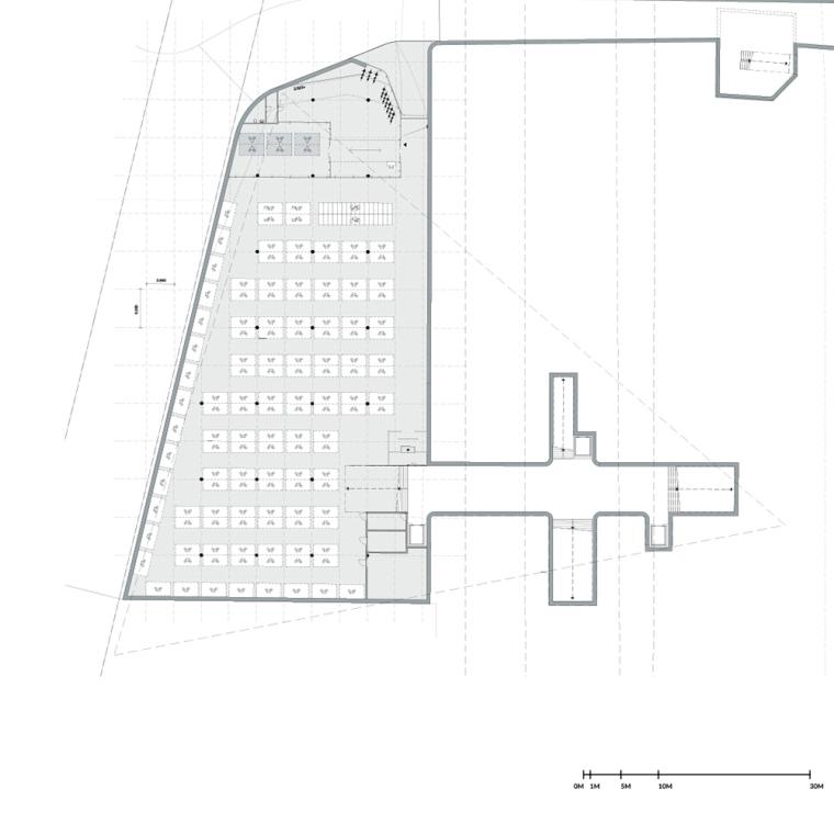 荷兰阿森火车站改建平面图-荷兰阿森火车站改建第12张图片