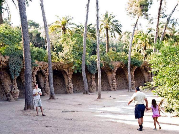 西班牙奎尔公园第1张图片