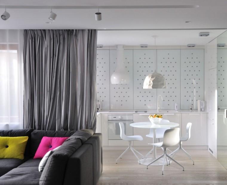 波兰的圆顶公寓室内实景图-波兰的圆顶公寓第11张图片